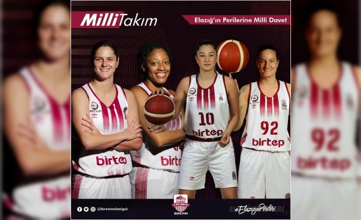 Elazığ İl Özel İdare'den 4 basketbolcuya milli davet