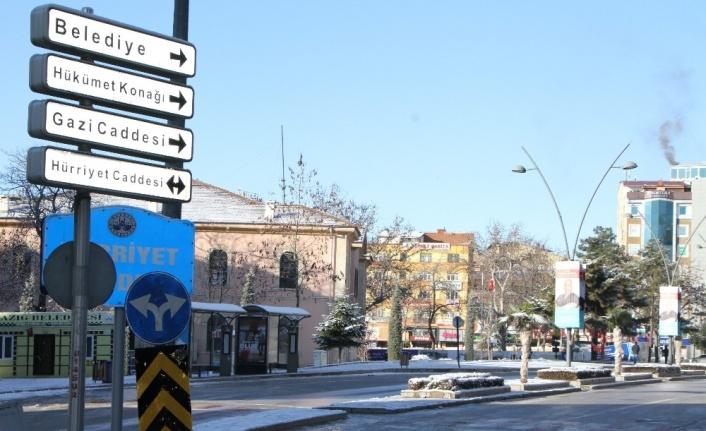 Elazığ'da hafta sonu kısıtlama sessizliği