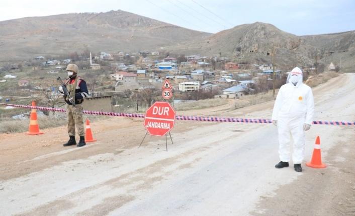 Elazığ'da Covid-19 nedeniyle karantinaya alınan köy sayısı 3'e çıktı