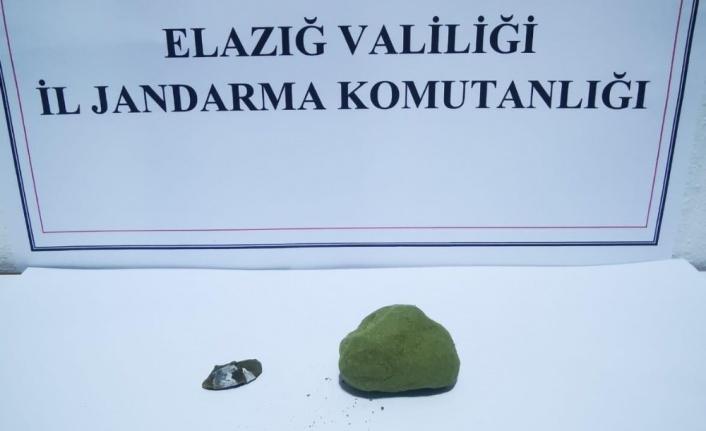 Elazığ'da uyuşturucu ile mücadele: 2 gözaltı