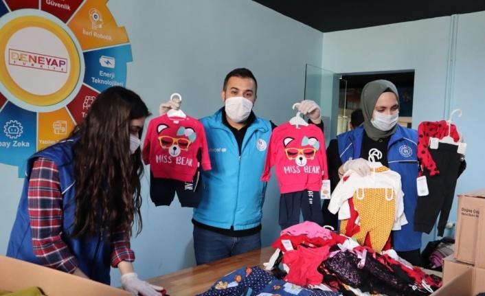 """Elazığ'dan """"Kardeşlerin Isınır, Dünya Isınır'' projesine destek"""