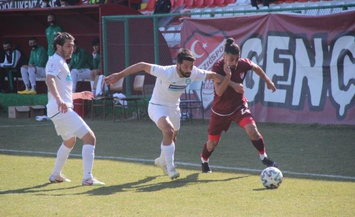2. Lig: Elazığspor: 1 - 1922 Konyaspor: 1