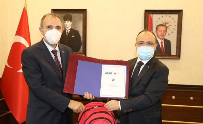 Elazığ'da  Afet Eğitim Yılı İşbirliği Protokolü imzalandı