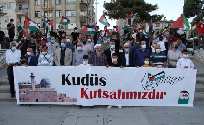 Elazığ'dan İsrail'e tepki, Filistin'e destek sürüyor