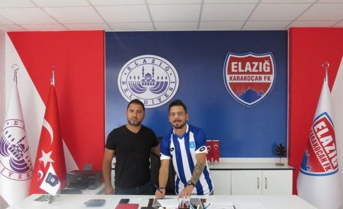 Elazığ Karakoçan FK, Ekrem Sütçü'yü renklerine bağladı