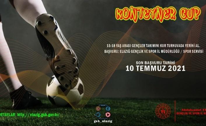 Elazığ'da konteynerde kalan çocuklar için futbol turnuvası düzenlenecek