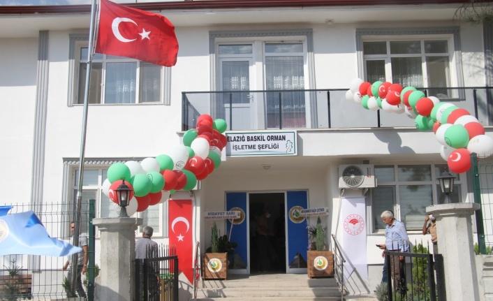 Baskil'de Orman İşletme Şefliği binası açıldı
