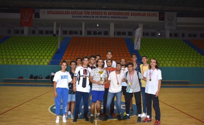 Elazığ'da U18 basketbol müsabakaları sona erdi