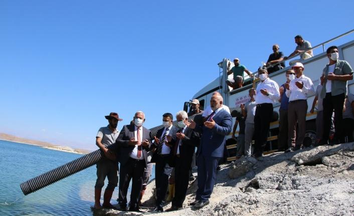 Elazığ'dan 18 kente 12 milyon yavru sazan balığı gönderildi
