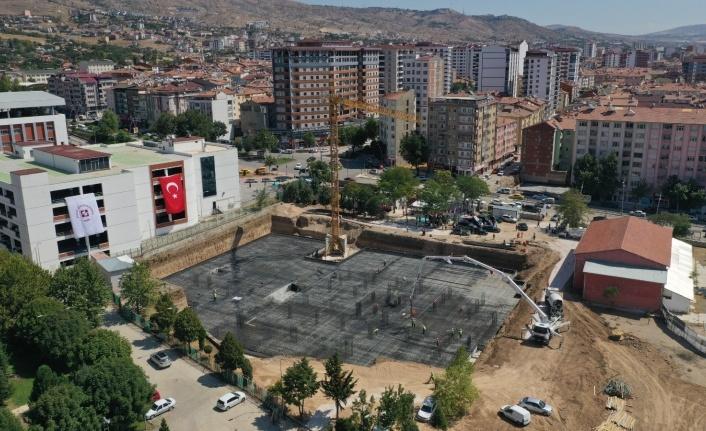 FÜ Diş Hekimliği Fakültesi ve Hastanesi binasının temeli atıldı