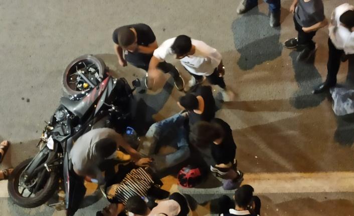 Elazığ'da düğün konvoyunda kaza: 1 yaralı