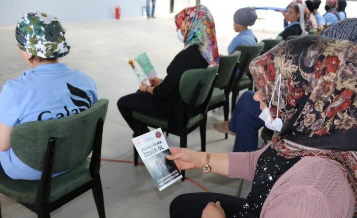 Elazığ'da 'En İyi Narkotik Polisi Anne Projesi'