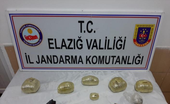 Elazığ'da uyuşturucu operasyonu: 2 şüpheli yakalandı
