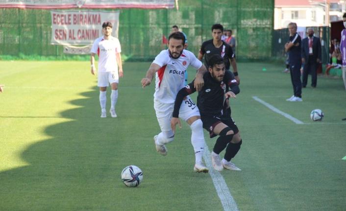 TFF 3. Lig: Elazığspor: 1 - Bergama Belediyespor: 2