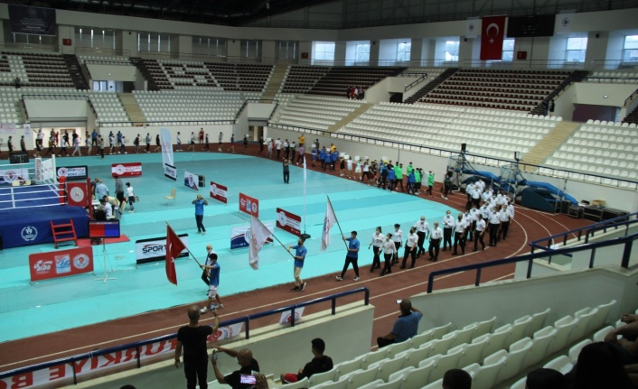 Türkiye Gençler Ferdi Boks Şampiyonası Elazığ'da başladı