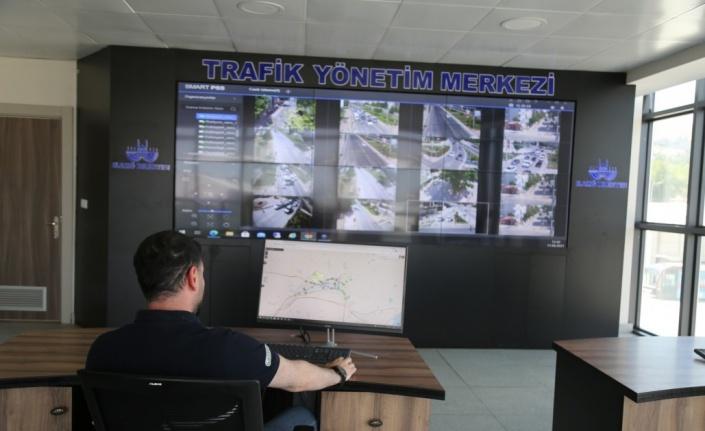 Elazığ Belediyesi akıllı trafik uygulamalarını hayata geçirmeye devam ediyor