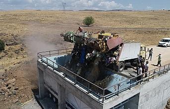 İlçede yılların çöp sorunu, katı atık depolama tesisi ile enerjiye dönüşüyor