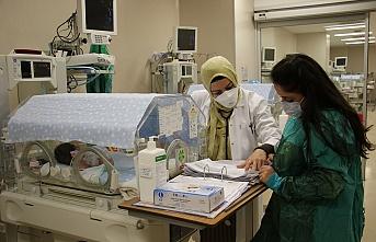 """Prematüre bebeklere """"anne şefkati"""" ile bakıyorlar"""