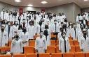 FÜ Tıp Fakültesi öğrencileri beyaz önlüklerini...