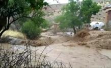 Elazığ'da sel nedeniyle heyelan meydana geldi, yollarda çökmeler oluştu
