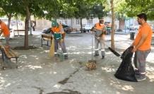 Elazığ'da temizlik çalışmaları sürüyor