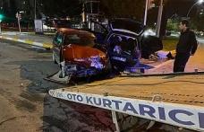 Elazığ'da otomobiller çarpıştı: 1 yaralı