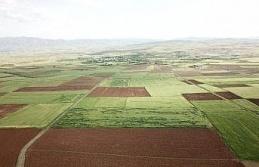 Elazığ'da arazi toplulaştırma çalışmaları...