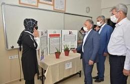 Öğrencilerin hazırladığı proje sergisi açıldı