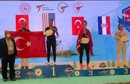 6. President Cup Europa Şampiyonası'nda 57 kiloda...