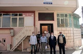 Tarihi Aksaray Camii İçin Çalışma Yapılacak
