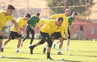 Yeni Malatyaspor'da Gençlerbirliği hazırlığı...