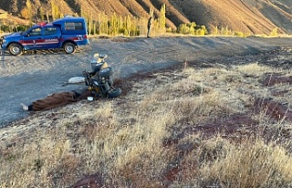 Devrilen ATV'nin sürücüsü öldü