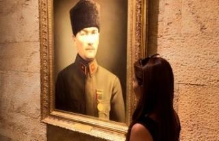 Muhtar Gündoğan'dan 10 Kasım Atatürk'ü Anma...