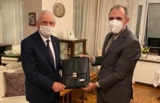 Rektör Göktaş, Sunguroğlu'nu Ziyaret Etti