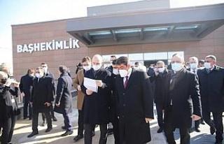 Bakan Soylu, Şehit Fethi Sekin'in babası ile kanaat...
