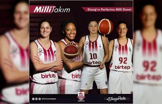 Elazığ İl Özel İdare'den 4 basketbolcuya milli...
