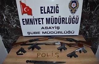 Elazığ'da aranan 159 şahıs yakalandı, 40'ı...