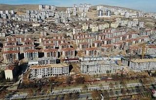 Elazığ'da deprem sonrası yapılan konutlar 100...