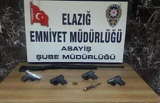 Elazığ'da aranan 47 şahıs yakalanıp tutuklandı