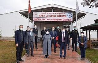 Elazığ'da Sağlık Afet Koordinasyon Merkezi hizmete...
