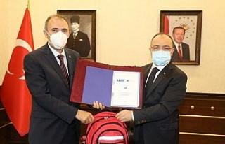 Elazığ'da Afet Eğitim Yılı İşbirliği Protokolü...