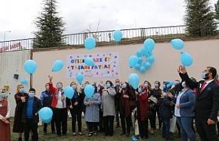 Elazığ'da, 'Otizm Farkındalık Günü' etkinliği