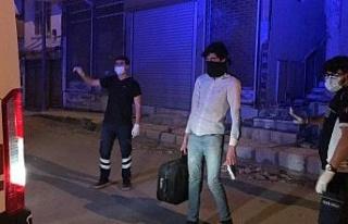 Yabancı uyruklu evsiz Covid hastası yurda yerleştirildi