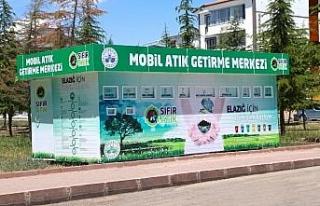 Elazığ'da mobil atık merkezleriyle çevre korunacak,...