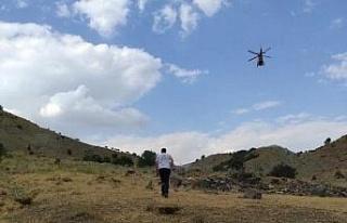 Dağda rahatsızlanan çobanın imdadına ambulans...