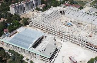 Elazığ'da 2 bin 600 kişilik spor salonu yükseliyor