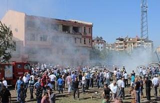 Elazığ'da Emniyet Müdürlüğü patlamasında...