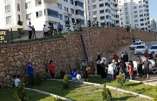 Elazığ'da otomobil istinat duvarından uçtu:...