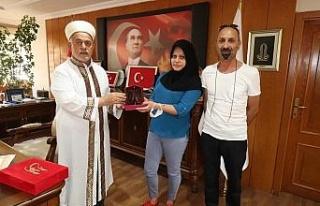 Gürcü kadın Elazığ'da Müslüman olup Elif...