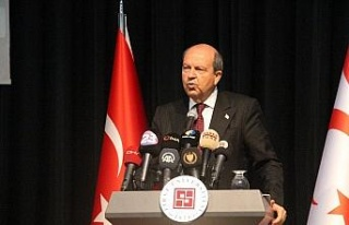 """KKTC Cumhurbaşkanı Tatar: """"Türkiye Kıbrıs'a..."""
